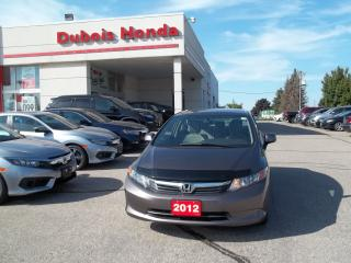 Used 2012 Honda Civic LX for sale in Woodstock, ON