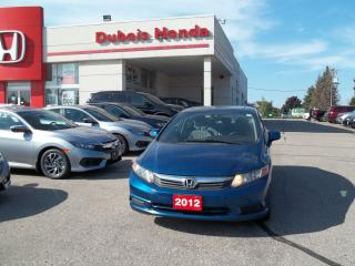 Used 2012 Honda Civic EX-L for sale in Woodstock, ON