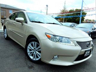 Used 2014 Lexus ES 350 PREMIUM | LEATHER.ROOF.CAMERA | BLUETOOTH | 91KM for sale in Kitchener, ON