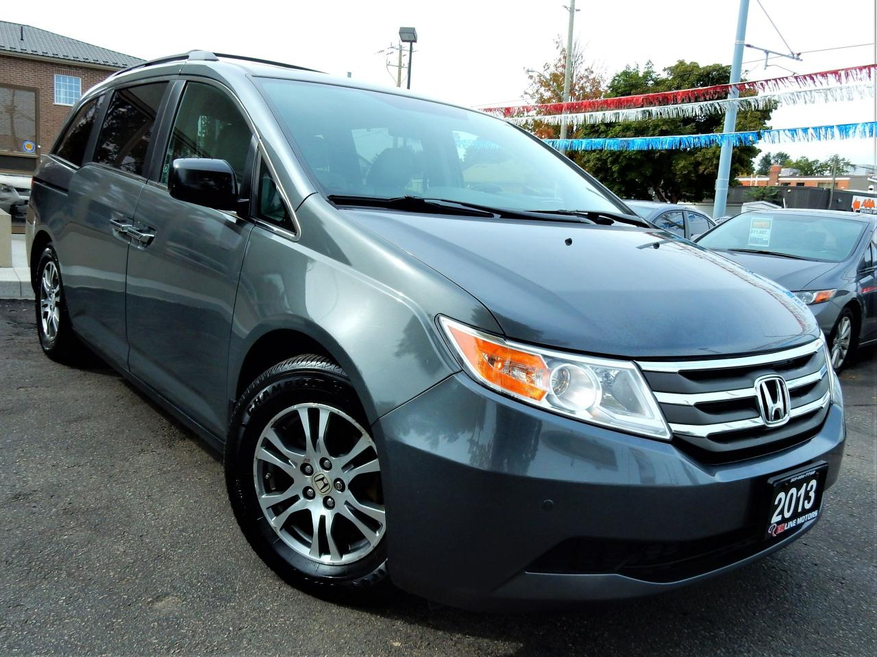 Used 2013 Honda Odyssey EX-L W/RES | LEATHER.ROOF | 8-PASS | POWER ...