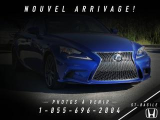 Used 2014 Lexus IS 350 executif  pack for sale in St-basile-le-grand, QC