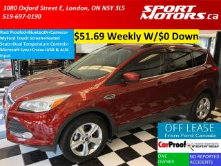 Used 2014 Ford Escape SE+Rust Proofed+New Brakes+Camera+Touch Screen for sale in London, ON