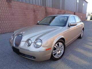 Used 2005 Jaguar S-Type 3.0L - MINT - ONLY 102,000KM for sale in Toronto, ON
