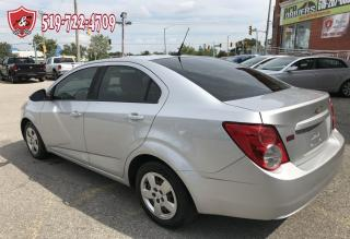 Used 2012 Chevrolet Sonic LS/ONE OWNER/NO ACCIDENT/CERTIFIED/WARRANTY INCL for sale in Cambridge, ON