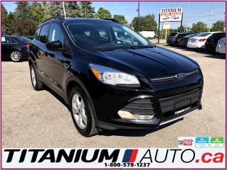 Used 2015 Ford Escape 4WD-Camera-Pano Roof-Leather Heated Power Seats-XM for sale in London, ON