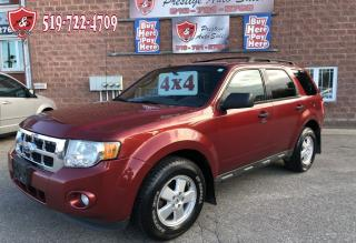 Used 2012 Ford Escape XLT/4WD/NO ACCIDENT/CERTIFIED/WARRANTY INCLUDED for sale in Cambridge, ON