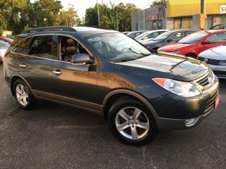 Used 2012 Hyundai Veracruz Limited/ AWD/ 7 SEATER/ LEATHER/ SUNROOF/ ALLOYS for sale in Scarborough, ON