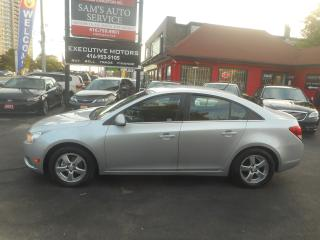 Used 2011 Chevrolet Cruze LT Turbo / ALLOYS/ REMOTE START/ NEW BRAKES / for sale in Scarborough, ON
