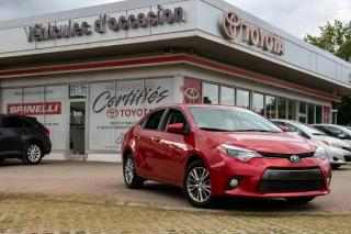 Used 2015 Toyota Corolla LE for sale in Pointe-claire, QC