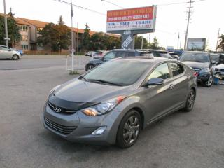 Used 2013 Hyundai Elantra Limited w/Navi for sale in Toronto, ON