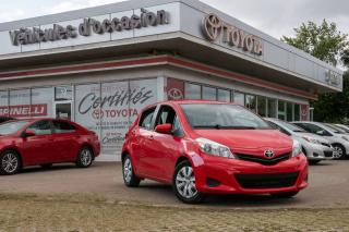 Used 2014 Toyota Yaris HB for sale in Pointe-claire, QC