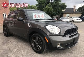 Used 2013 MINI Cooper Countryman S ALL4/CERTIFIED/WARRANTY INCLUDED for sale in Cambridge, ON