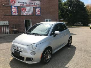 Used 2014 Fiat 500 Sport/CERTIFIED/WARRANTY INCLUDED for sale in Cambridge, ON