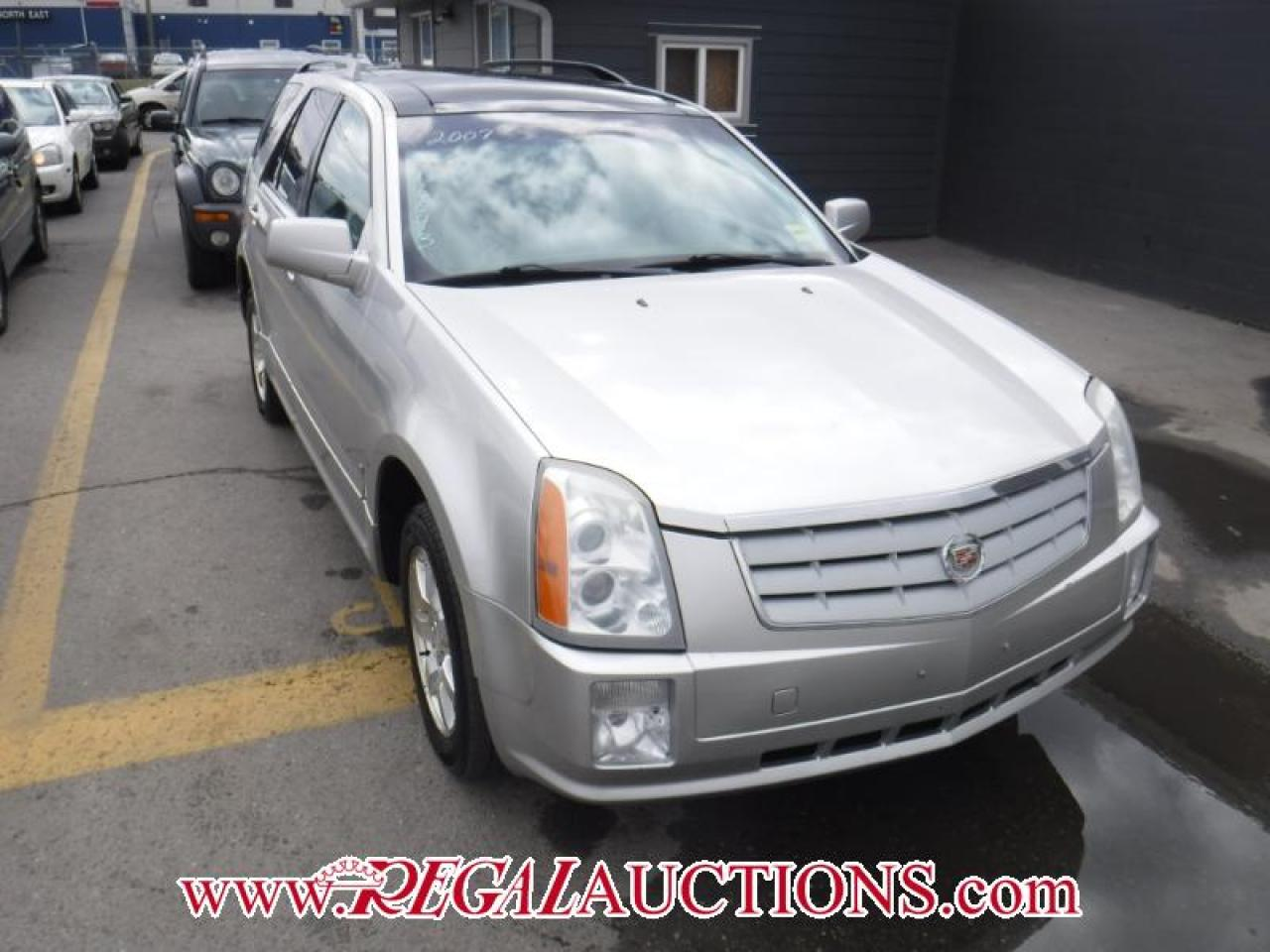 Photo of Silver 2007 Cadillac SRX