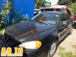 Used 2001 Pontiac Grand Am SE | AS IS | NOT INSPECTED for sale in London, ON