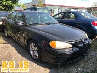 Used 2001 Pontiac Grand Am GT1 | AS IS | NOT INSPECTED for sale in London, ON