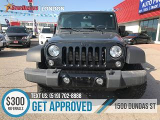 Used 2017 Jeep Wrangler for sale in London, ON