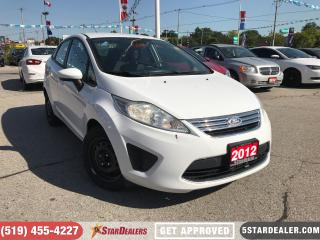 Used 2012 Ford Fiesta SE | CAR LOANS APPROVED HERE for sale in London, ON