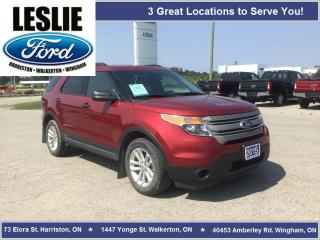 Used 2015 Ford Explorer Base | 4WD | One Owner | Bluetooth for sale in Harriston, ON