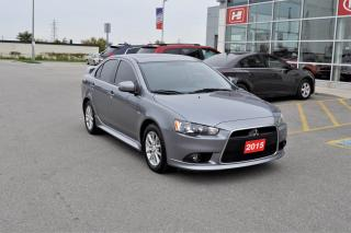 Used 2015 Mitsubishi Lancer SE | Limited Edition | Sunroof for sale in Stratford, ON