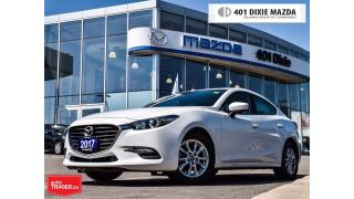 Used 2017 Mazda MAZDA3 GS, 1.9% FINANCE AVAILABLE, NAVIGATION READY for sale in Mississauga, ON