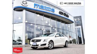Used 2013 Cadillac ATS 2.5L, NO ACCIDENTS, New Tires, Sunroof for sale in Mississauga, ON