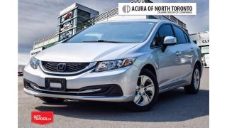 Used 2013 Honda Civic Sedan LX 5AT Accident Free| Winter Tires Included for sale in Thornhill, ON