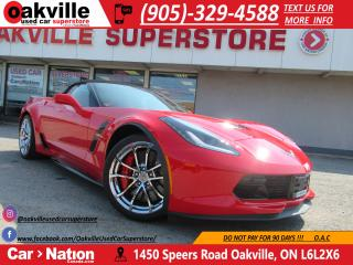 Used 2017 Chevrolet Corvette Grand Sport 3LT | NAVI | NAPA LEATHER | BOSE | HUD for sale in Oakville, ON