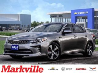 Used 2016 Kia Optima SX-TURBO-LTHR-NAV-RF-CERTIFIED PRE-OWNED-1 OWNER for sale in Markham, ON