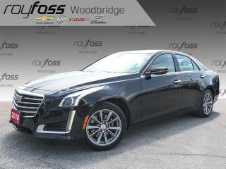 Used 2018 Cadillac CTS 3.6L NAV, BOSE, VENTED SEATS, SUNROOF for sale in Woodbridge, ON