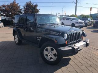 Used 2011 Jeep Wrangler UNLIMITED SAHARA**KEYLESS ENTRY**A/C** for sale in Mississauga, ON
