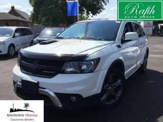 Used 2015 Dodge Journey Crossroad-Push start-Rear camera for sale in North York, ON