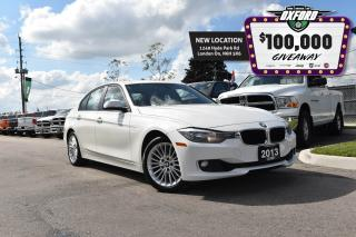 Used 2013 BMW 328 i xDrive - Twin Turbo, Bluetooth, Leather, 6.5in T for sale in London, ON