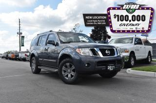 Used 2011 Nissan Pathfinder SV - One Owner, 4x4, Sunroof, Back Up Cam for sale in London, ON