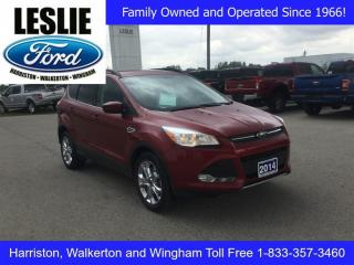 Used 2014 Ford Escape SE | 4WD | One Owner | Navigation for sale in Harriston, ON