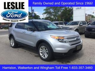 Used 2014 Ford Explorer XLT | 4WD | One Owner | Navigation for sale in Harriston, ON