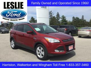 Used 2014 Ford Escape SE | One Owner | Sold & Serviced by Leslie Motors for sale in Harriston, ON
