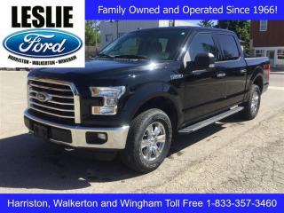 Used 2016 Ford F-150 XTR | 4X4 | Accident Free | Remote Start for sale in Harriston, ON