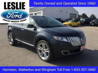 Used 2014 Lincoln MKX Accident Free | Navigation | Winter Tires & Rims for sale in Harriston, ON