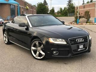 Used 2010 Audi A5 2dr Cabriolet Auto 2.0L for sale in Barrie, ON
