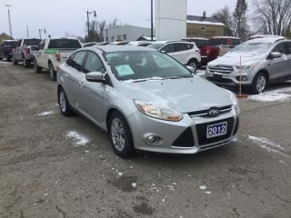 Used 2012 Ford Focus SEL | Sedan | Accident Free | Heated Seats for sale in Harriston, ON
