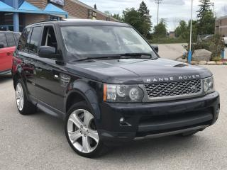 Used 2010 Land Rover Range Rover Sport 4WD 4dr SC for sale in Barrie, ON