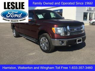 Used 2010 Ford F-150 Lariat | 4X4 | One Owner | Rear View Camera for sale in Harriston, ON