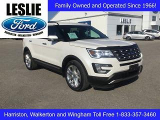 Used 2017 Ford Explorer Limited | 4WD | One Owner | Heated Seats for sale in Harriston, ON