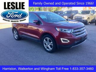 Used 2015 Ford Edge Titanium | FWD | One Owner | Navigation for sale in Harriston, ON