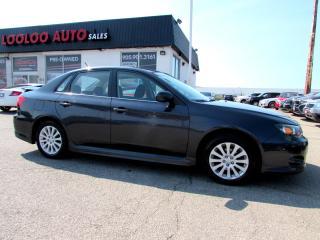 Used 2010 Subaru Impreza 2.5i AWD 5 SPEED SUNROOF CERTIFIED 2YR WARRAN for sale in Milton, ON