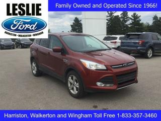 Used 2016 Ford Escape SE | FWD | One Owner | Rear View Camera for sale in Harriston, ON