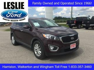 Used 2016 Kia Sorento LX | FWD | Local Trade for sale in Harriston, ON