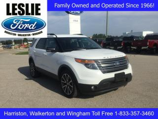 Used 2015 Ford Explorer XLT | 4WD | Navigation | Bluetooth for sale in Harriston, ON