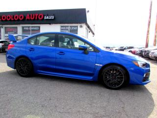Used 2016 Subaru Impreza WRX STi STI AWD TURBO CAMERA BLUETOOTH CERTIFIED WARRANTY for sale in Milton, ON